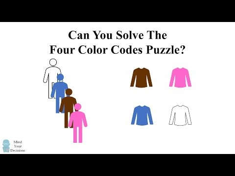 Thumbnail: Can You Solve The Four Color Codes Riddle?