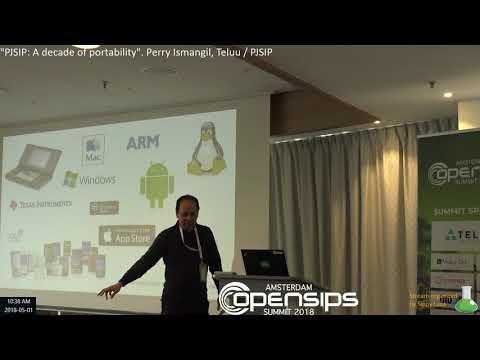 """PJSIP: A decade of portability"". Perry Ismangil, Teluu / PJSIP"