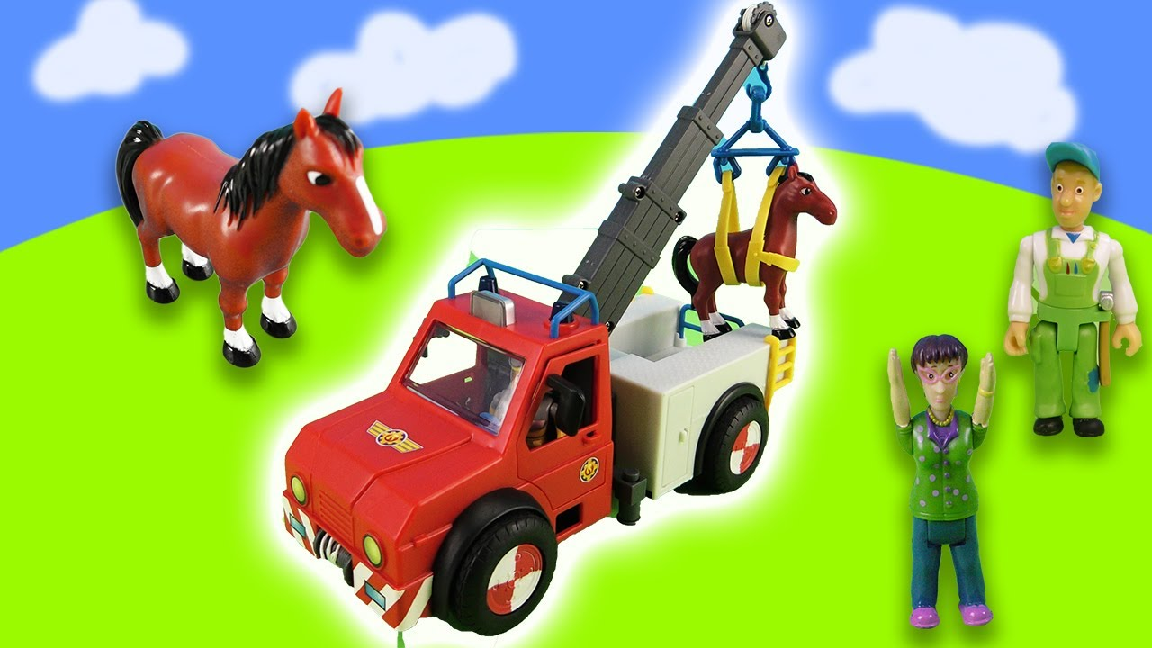Exciting Horse Rescue Mission with Fireman Sam!