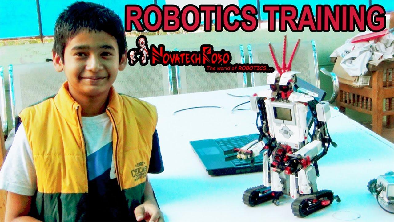 Robotics Training Program Novatechrobo Pvt Ltd Bangalore