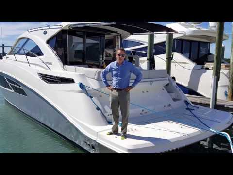 2017 Sea Ray 510 Sundancer Miami Silver Exclusive Boat For Sale at MarineMax Sarasota