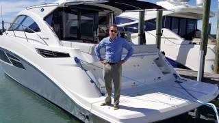 2016 Sea Ray 510 Sundancer Miami Sliver Exclusive Boat For Sale at MarineMax Sarasota