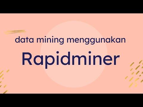 Workshop Data Mining Menggunakan Rapidminer