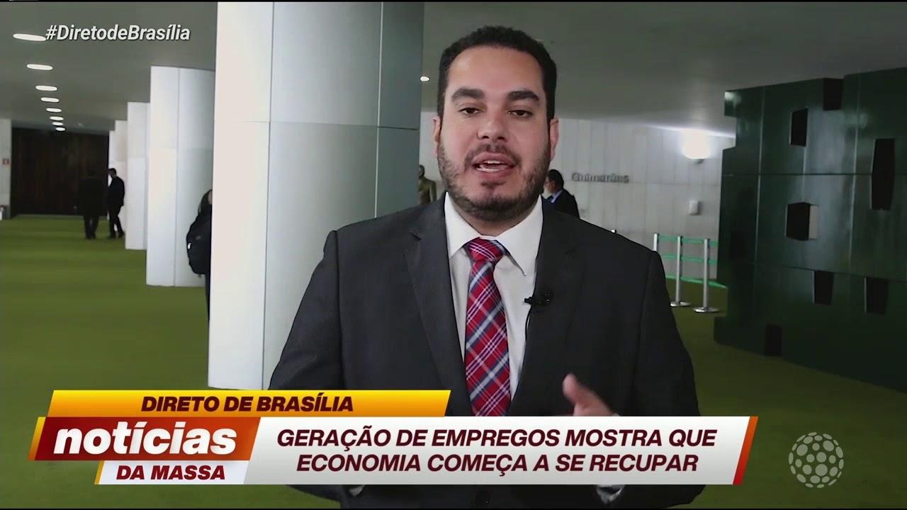 Geração de empregos mostra que economia começa a se recuperar - Notícias da Massa (22/11/19)