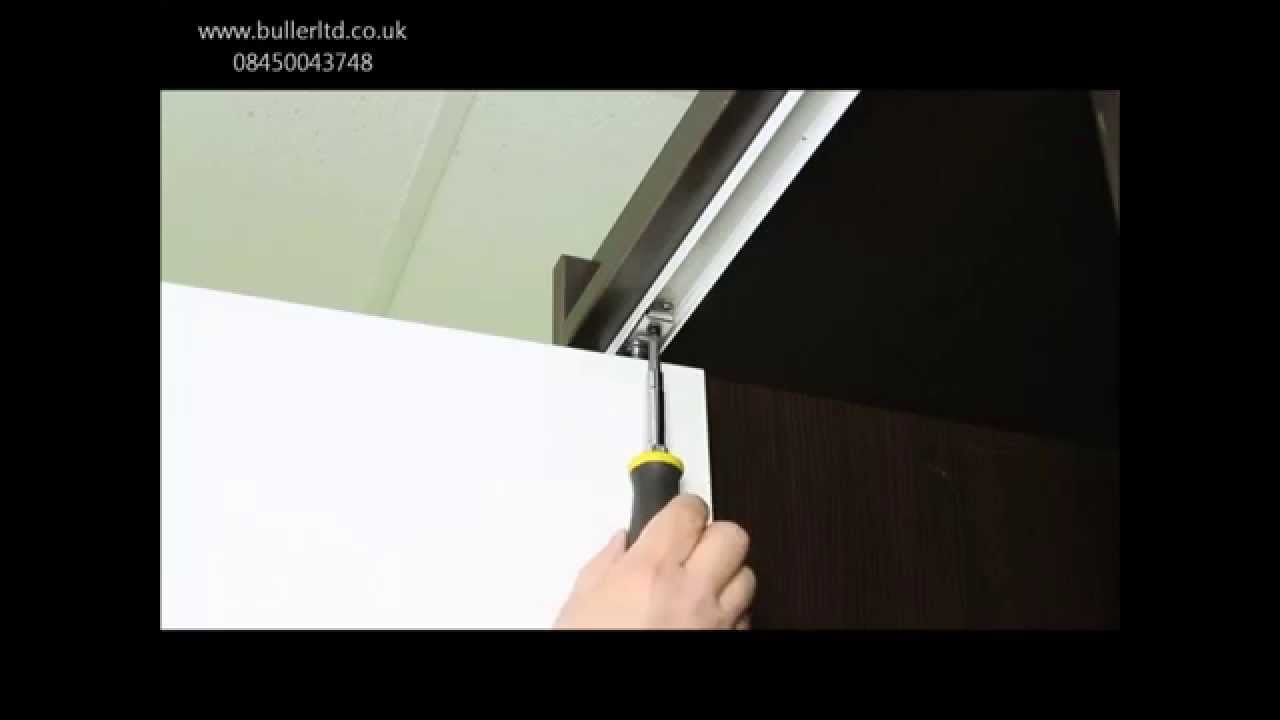 Apollo Folding Door Gear track kit for doors and wardrobes - Buller Ltd & Apollo Folding Door Gear track kit for doors and wardrobes - Buller ...