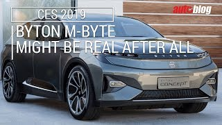 Byton M-Byte goes on sale in Q4 of 2019