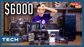 Building a $6,000 Gaming PC for NOC Office!