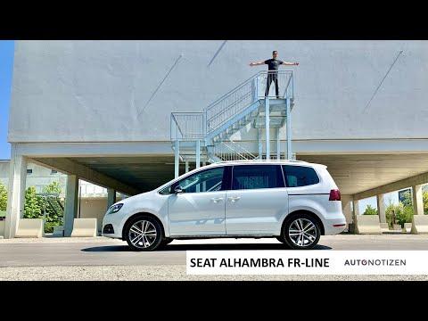 Seat Alhambra FR-Line TDI 4Drive 2020: Van Im Review, Test, Fahrbericht
