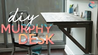 SAVE SPACE WITH THIS MURPHY DESK | COMPLETE TUTORIAL