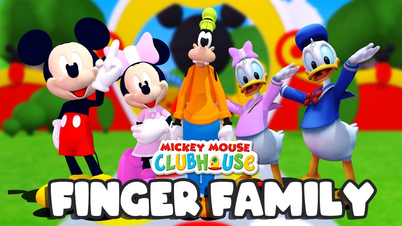 Mickey Mouse Clubhouse Finger Family + More Nursery Rhymes Song | Binggo Channel