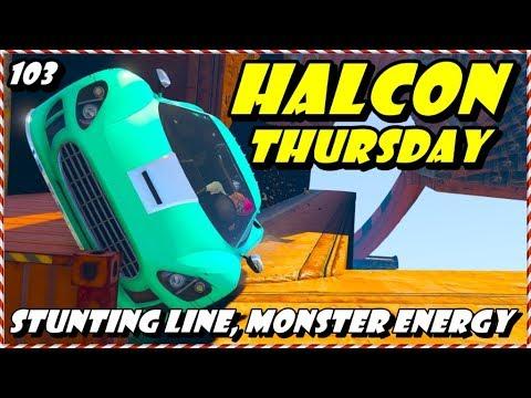 LIVE - HALCON THURSDAY 103, STUNTING LINE, CASH ME OUTSIDE ((( GTA 5 ONLINE PS4 )))