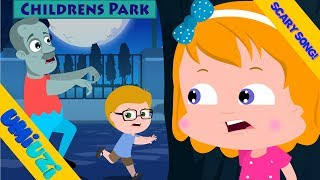 Umi Uzi | Zombie In The Dark | Halloween Songs & Rhymes For Kids