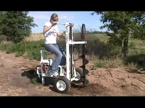 E-Z Ryder Earth Drill Demo