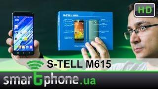 S-TELL M615 - Обзор смартфона. $83 и сканер отпечатка пальцев