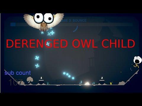 DERENGED OWL CHILD!! // Stick Fight