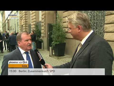 Max Straubinger zur Fraktionsgemeinschaft mit der CDU am 26.09.17