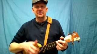 MUJ:  Oh! Susanna - Stephen Foster (ukulele tutorial)