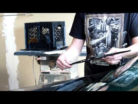 2003-2007 Honda Accord Wiper blade remove and install
