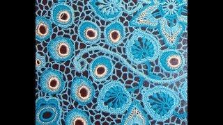 ВЯЗАНИЕ КРЮЧКОМ ЛИСТИКА С ВИТЫМИ УЗЕЛКАМИ. How To Crochet Leaf.Irish Crochet.Clones Lace Leaf.