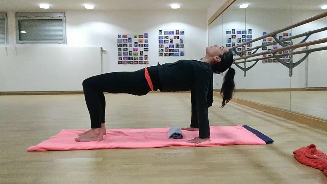 Pilates tous niveaux : Séverine