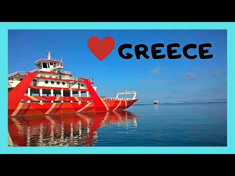 GREECE: Ferryboat ride from PERAMA (Περαμα) to island of SALAMINA (Σαλαμινα)