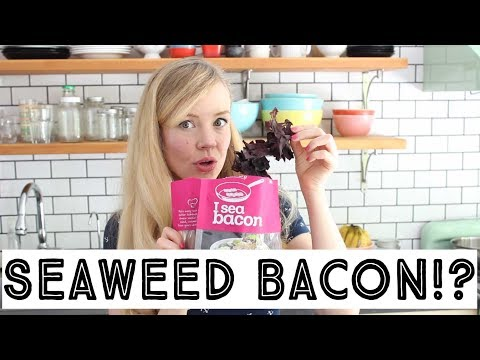SEAWEED BACON - Does this seaweed really taste like bacon?