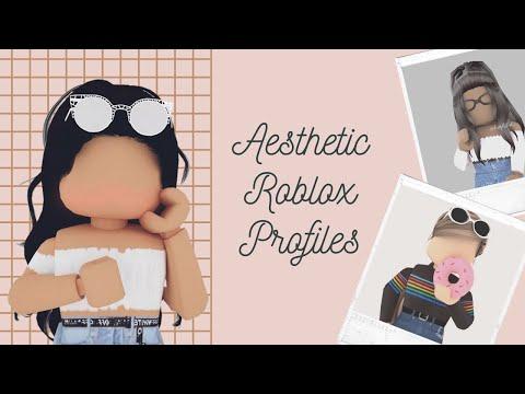 Roblox Aesthetic Profile Pics For Tiktok Aesthetic Roblox Profiles Pics Youtube