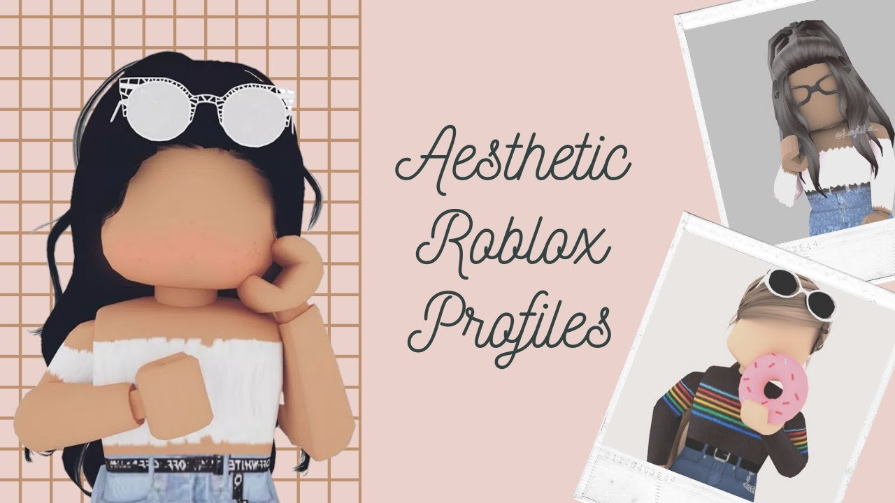 Girl Roblox Picture Profile Aesthetic Roblox Profiles Pics Youtube
