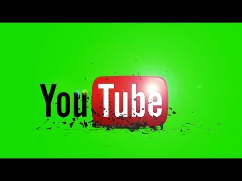 Intro YouTube Logo Green Screen Full HD