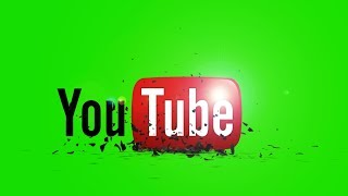 Intro Youtube Logo Green Screen Full Hd Youtube