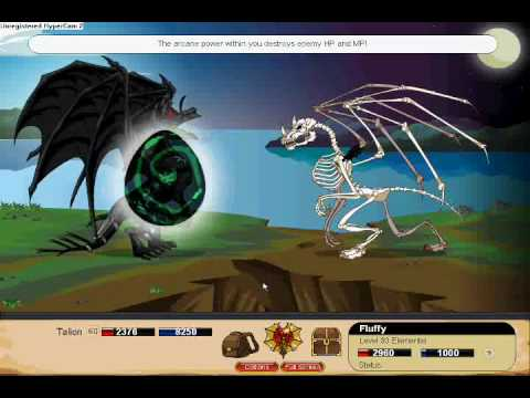 Dragonfable - Primal Dragon : Fluffy screwed