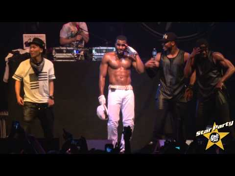 Jason Derulo Performs 'Wiggle' Live at KDWB's Star Party 2014