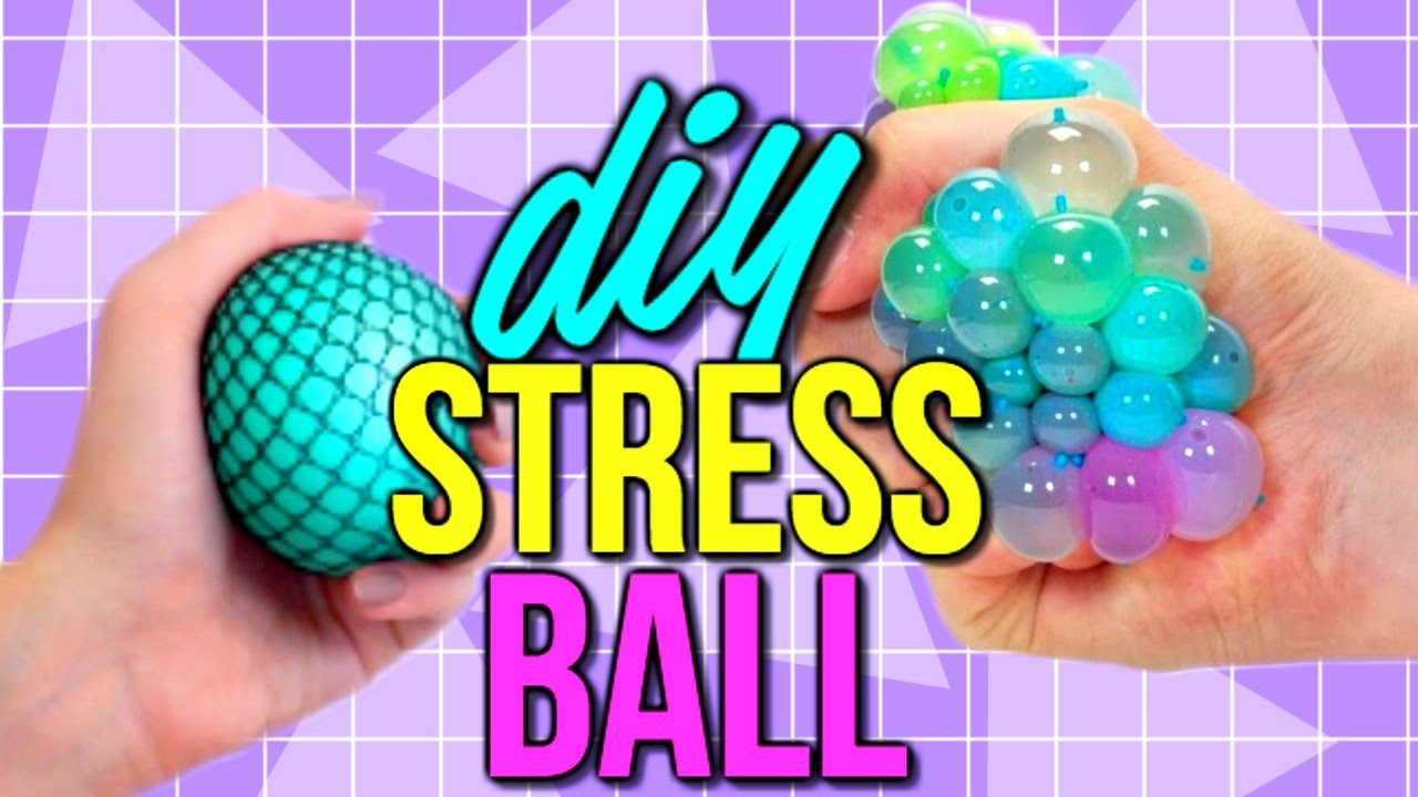 Diy squishy stress ball - DIY Super Cool Squishy Stress Ball! How to Make The Coolest Stress ...