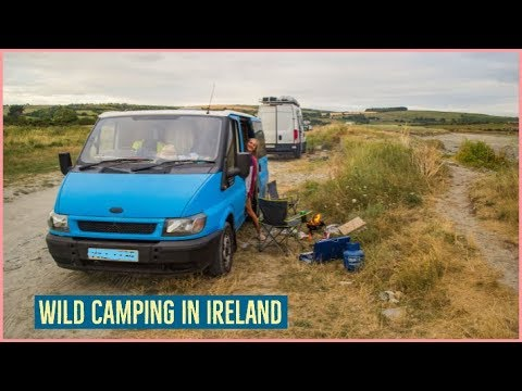 First Wild Camping Experience, Vanlife In Ireland