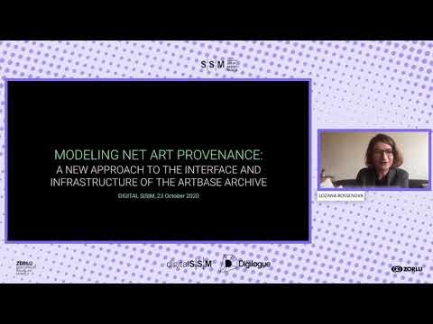 Modeling Net Art Provenance: A New Approach To The Interface of Rhizome's ArtBase Archive
