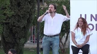 Acto central de campaña en Mallorca.