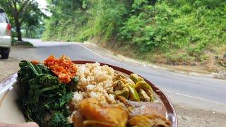 Gambar cover Kuliner Nasi Thiwul Jangan Lodho di jalur Trenggalek ke Ponorogo | Makanan Jawa Yang Sehat dan Murah