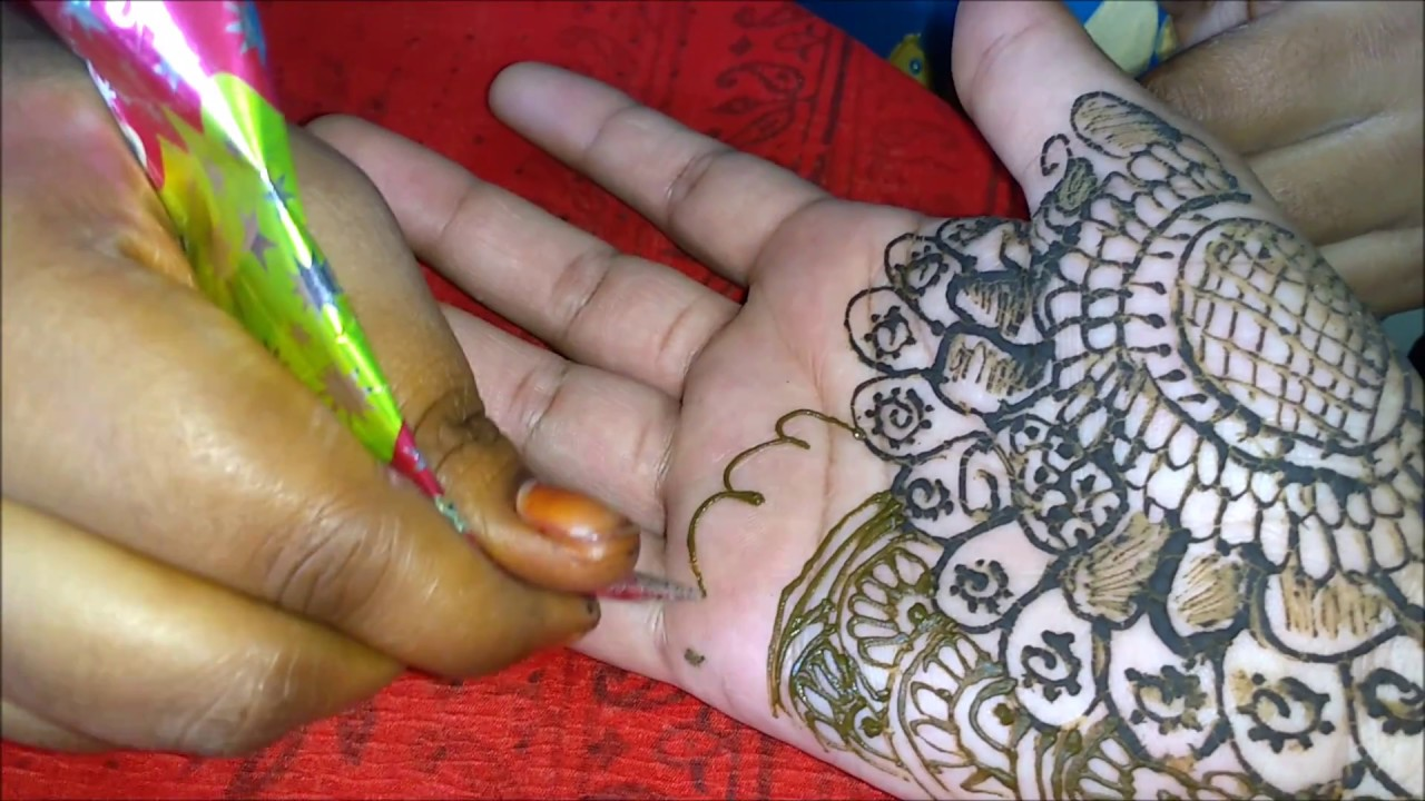 Easy Mehndi Tutorial : Very easy mehndi designs for beginners