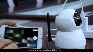 Operation Video for EC50 1080P WIFI Camera