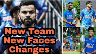 Team India Selection For Westindies Tour || New Team || New Faces || Changes