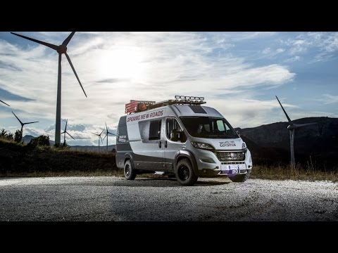 4x4 Fiat Ducato Expedition camper van Exterior & Interior ...