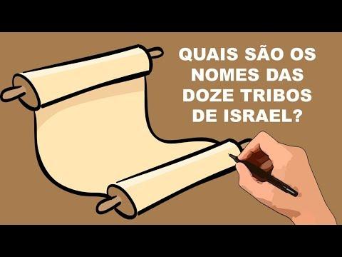 QUAIS SÃO OS NOMES DAS DOZE TRIBOS DE ISRAEL?