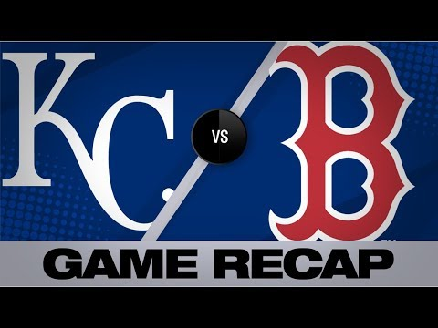 Holt walks off after two-week wait | Royals-Red Sox Game Highlights 8/22/19