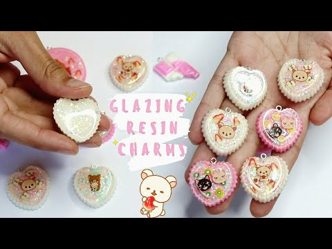 ♡ HOW TO Dome & Glaze Resin Charms || WATCH ME RESIN