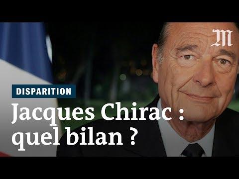 Mort de Jacques Chirac : quel bilan retenir de sa vie politique