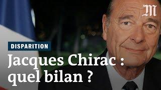 Mort de Jacques Chirac : quel bilan retenir de ses deux présidences