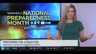 METEOROLOGIST CHERYL NELSON - WEATHER REEL