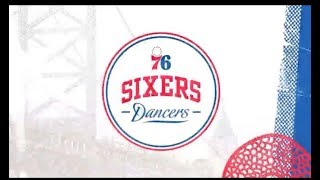 Philadelphia 76ers Dancers dance to Old Town Road 2019 NBA Playoffs Eastern Conference Semis Game 3
