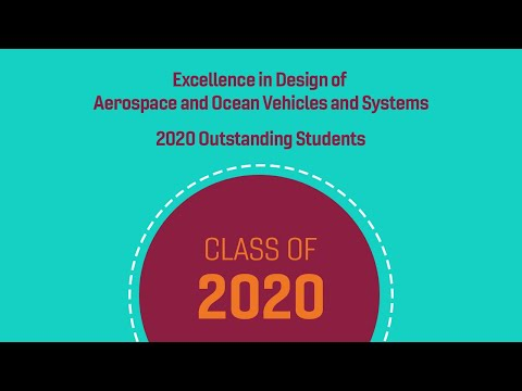 2020 Excellence in Design of Aerospace and Ocean Vehicles an
