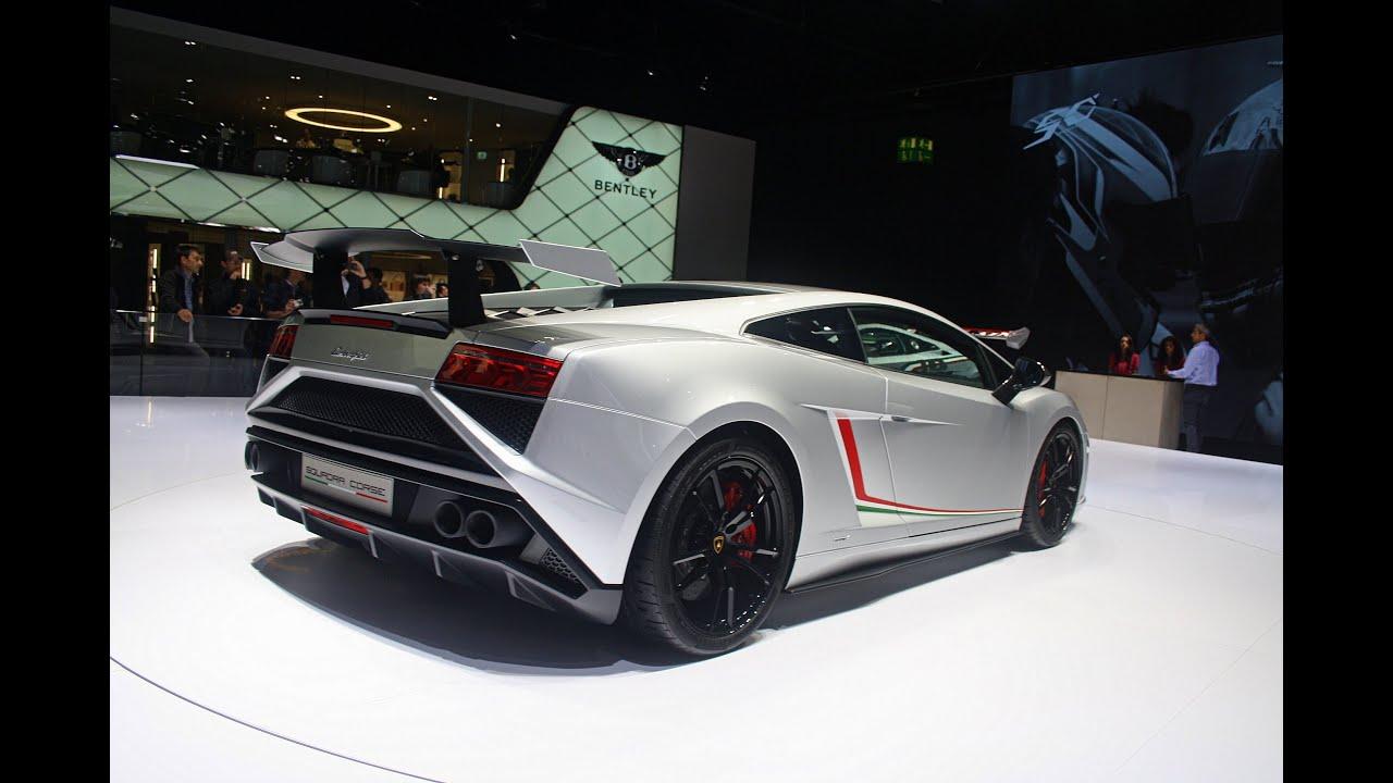 2014 Lamborghini Gallardo Lp570 4 Squadra Corse Iaa Frankfurt 2013 1080p Full Hd Youtube